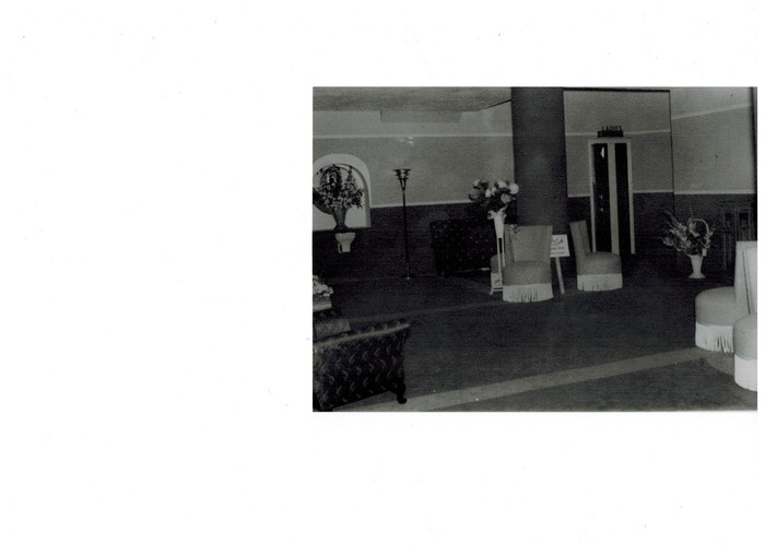 Interior photos circa 1939
