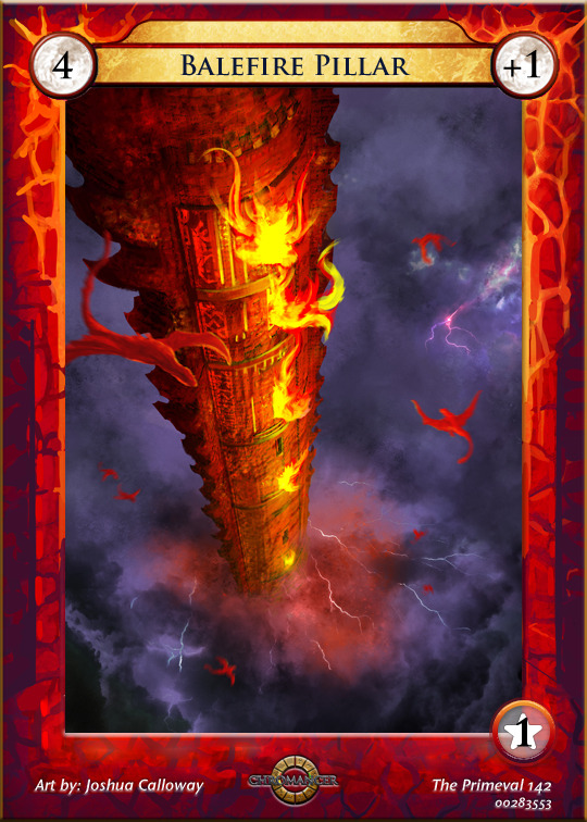 """Balefire Pillar"" by Joshua Calloway"