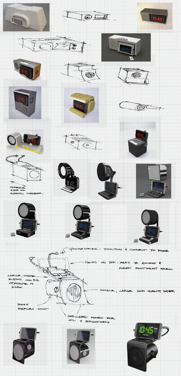 Some of the concepts that led to the current design