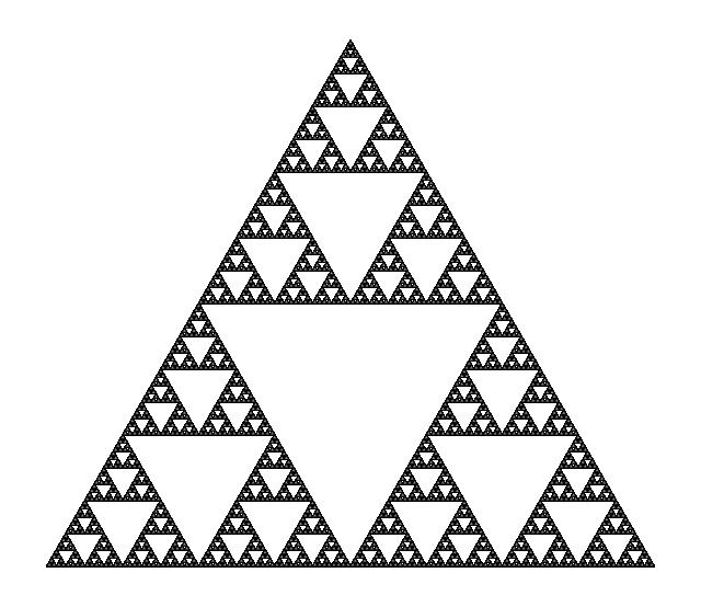 Possible hatch pattern. (Sierpinski triangle)