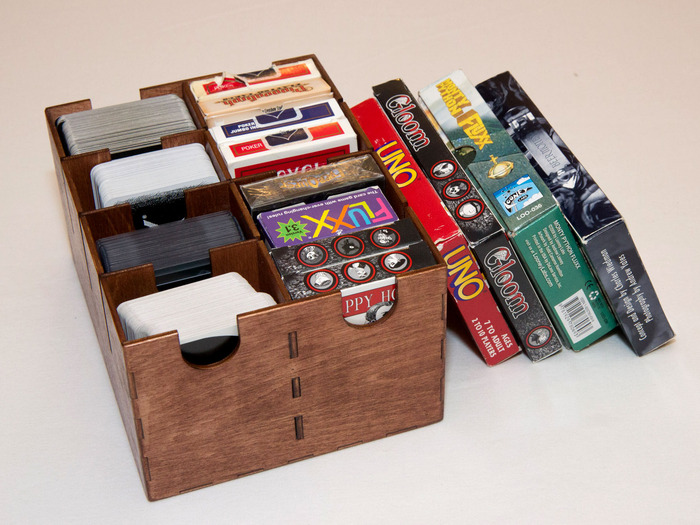 The Box of Awesome Card Games!