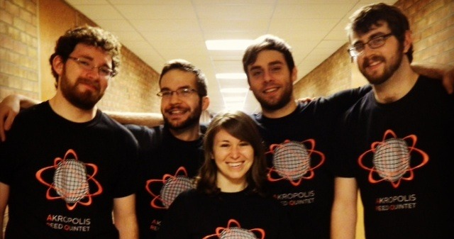 Wearing our special edition outreach t-shirts!