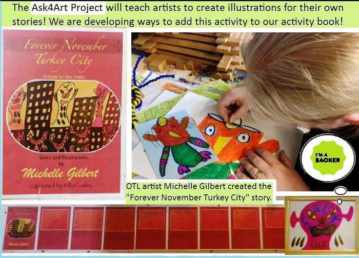 "Michelle Gilberet creates her story the ""Forever November Turkey City""!"