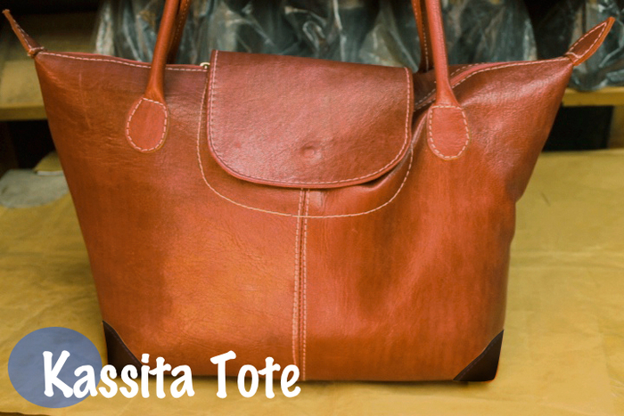 The Kassita Tote is a must-have, it is equally beautiful and practical.