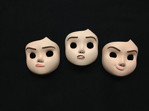 Painted Sophie Replacement Faces