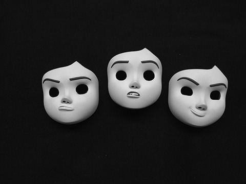 Unpainted Sophie Replacement Faces