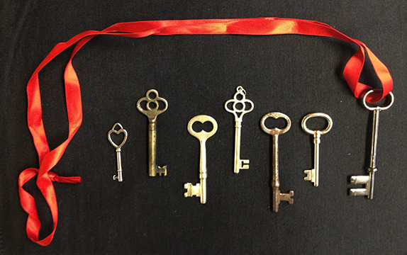Examples of Key Necklaces