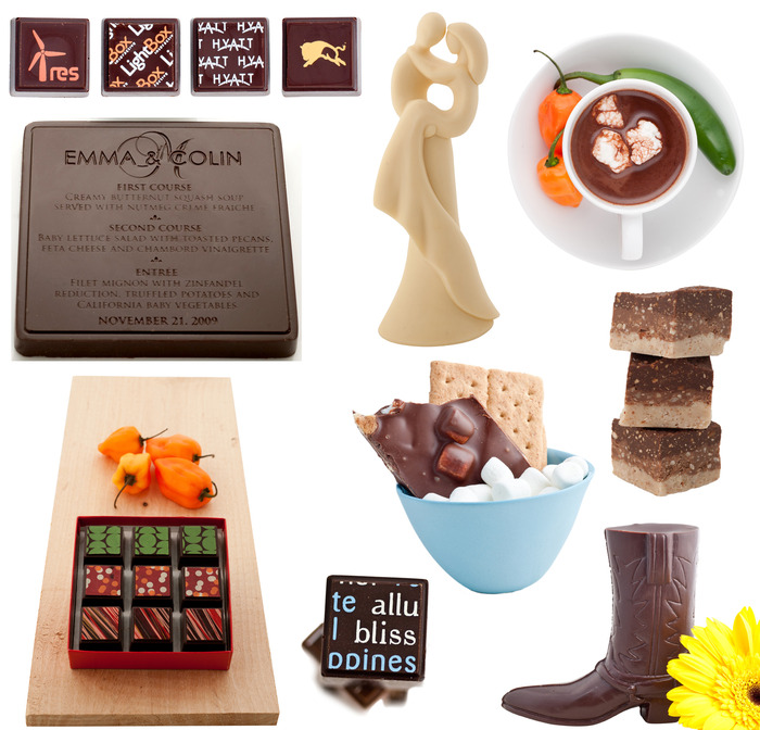 All of our products are handmade using only the finest chocolate and freshest ingredients