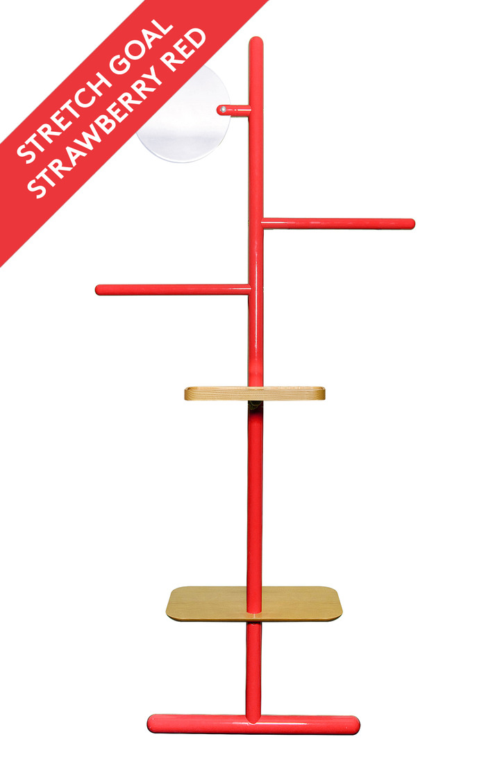 If we reach 14.500£ we can introduce a new colour: Camerino in Strawberry Red!