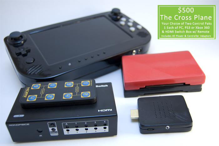 The Pro Package +: (Prototype Representation Only) Includes Everything From The Pro Package and Also Includes A HDMI Switch & Remote for Fast Switching Between Media Outlets