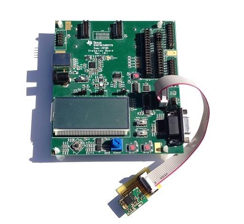 Development Board Attached to Prototype Board
