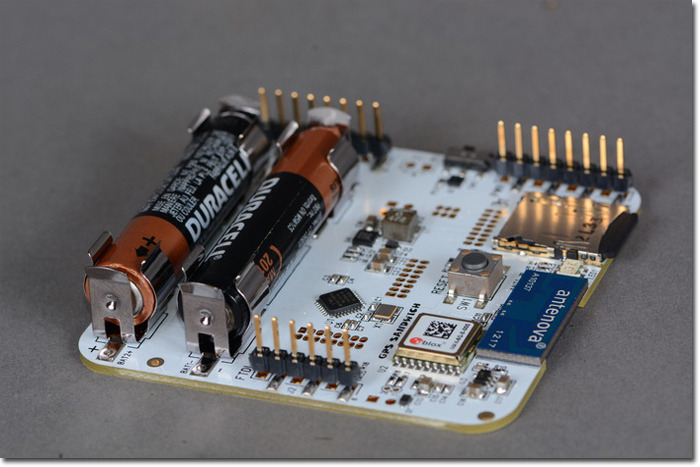 Standard Arduino compatible headers for easy hacking, expansion and writing your own firmware.