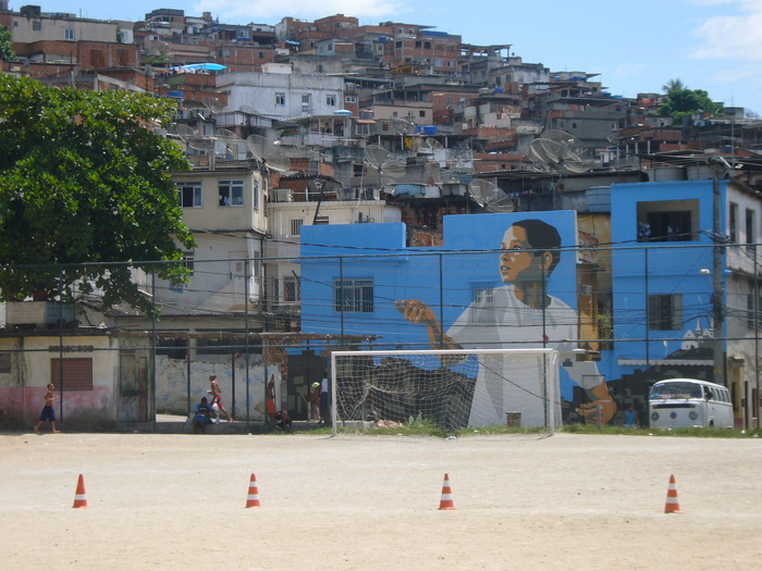 Favela Painting: Boy with Kite, 2007