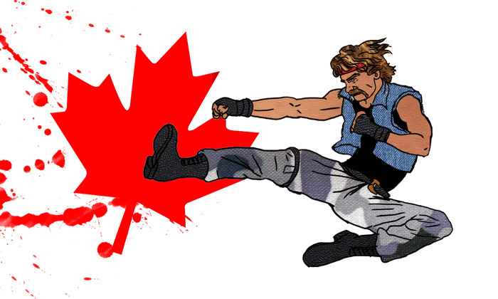 Buck North -- Canadian Ninja!