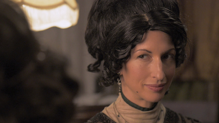 "Alysia Reiner as ""Theodocia"""