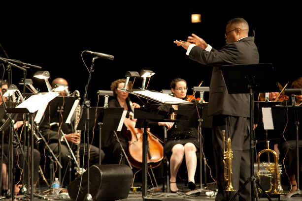 "Orbert Davis' CJP Chamber Ensemble performs ""Sketches of Spain"", April 2011 at the Auditorium Theatre"