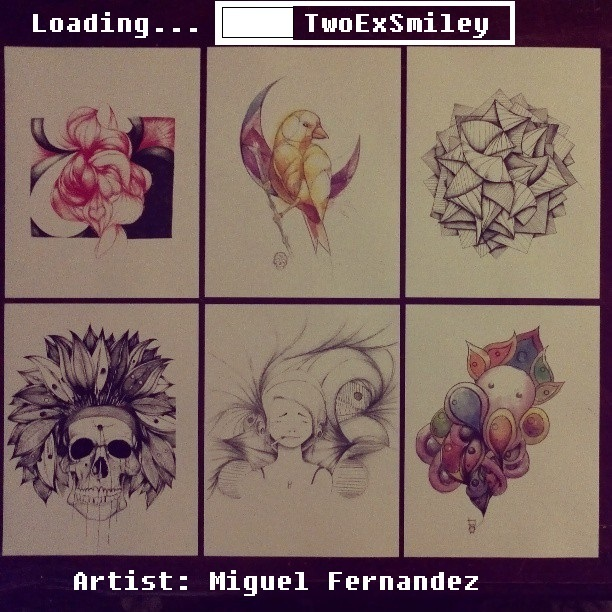Local Artist: Miguel Fernandez AKA: TwoExSmiley