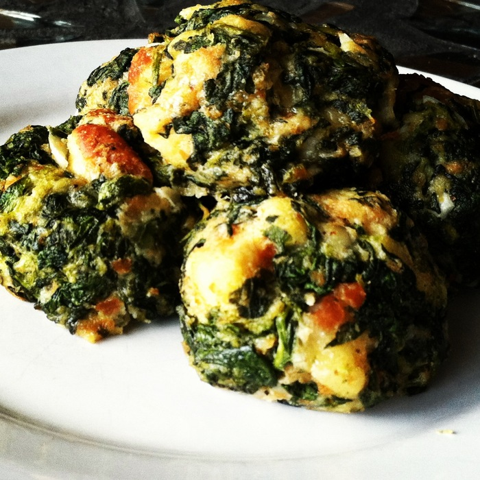 Baked Creamed Spinach & Cheese Croquettes