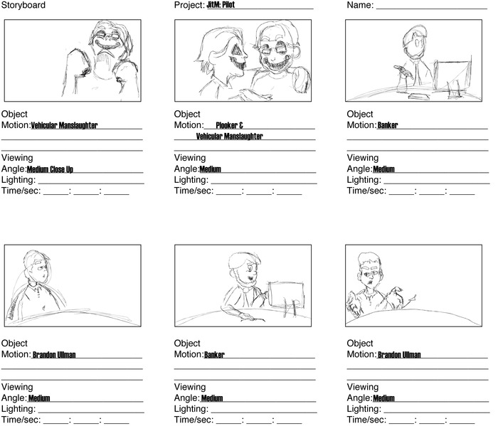 More Storyboard Panels