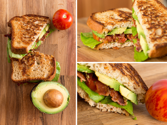 Bacon, Avocado, Lettuce & Tomato
