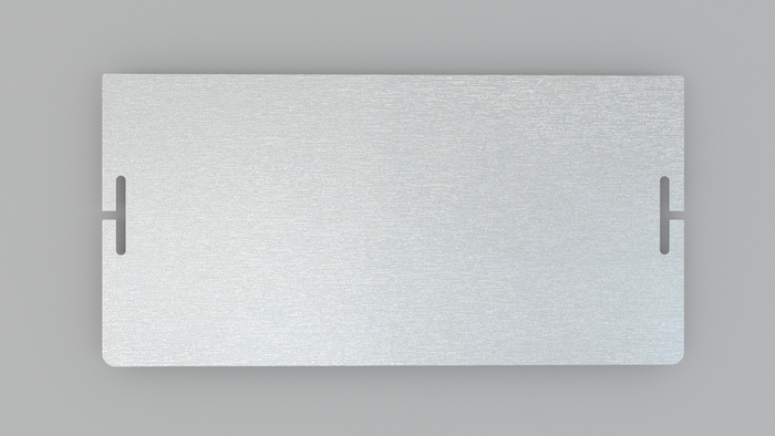 RFID full protection aluminum back cover. (Sample)