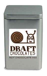 Hot Chocolate Mix (tin concept, actual packaging TBD)