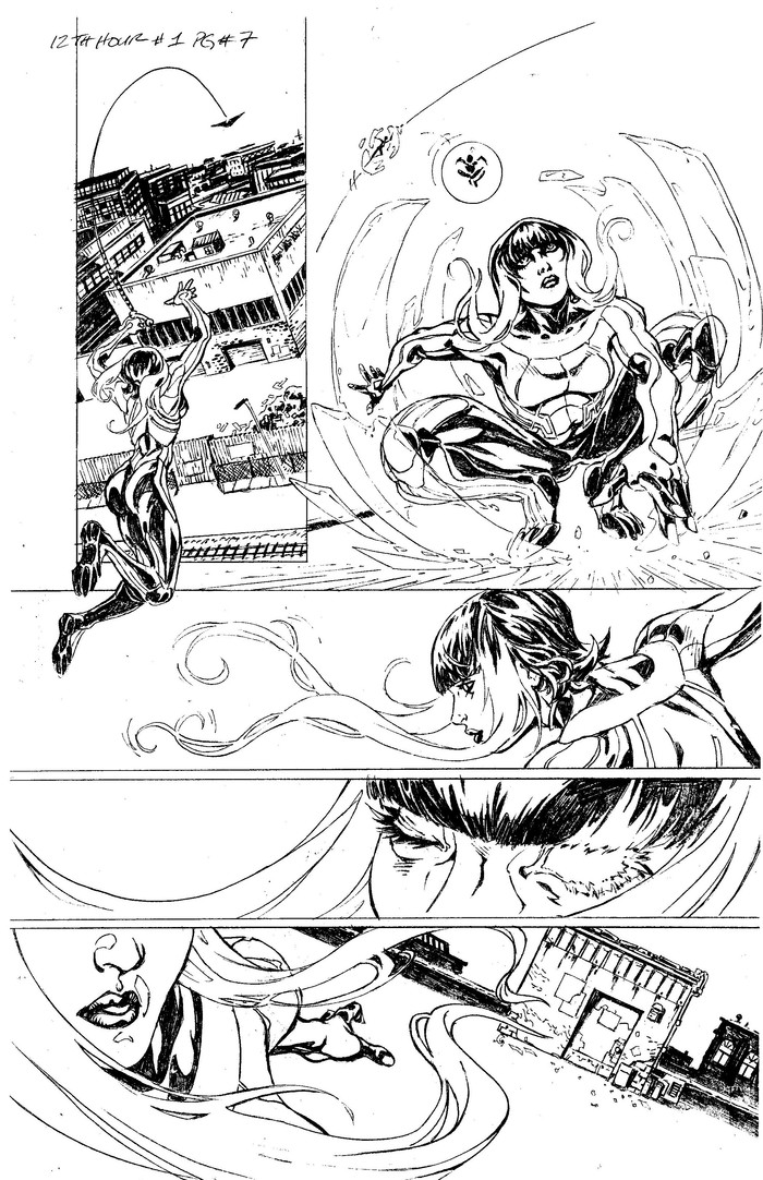 PAGE 7 Pencils by Don Walker