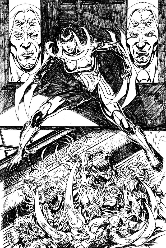 PAGE 9 Pencils by Don Walker