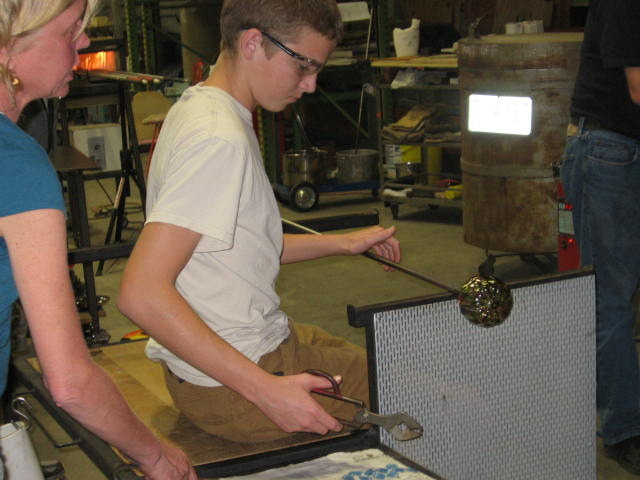 Glass Blowing Class with George-Ann Greth