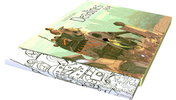 Deadlines VOL. 4: Slipcase Edition shown inside slipcase