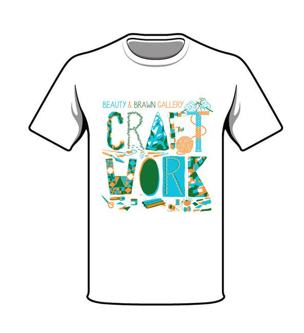 Hand silk screened union made unisex t-shirt!