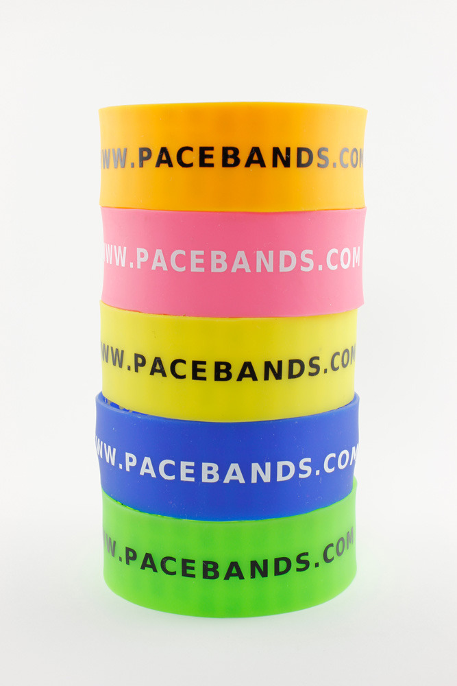 Individual bands or rainbow packs of all the colors