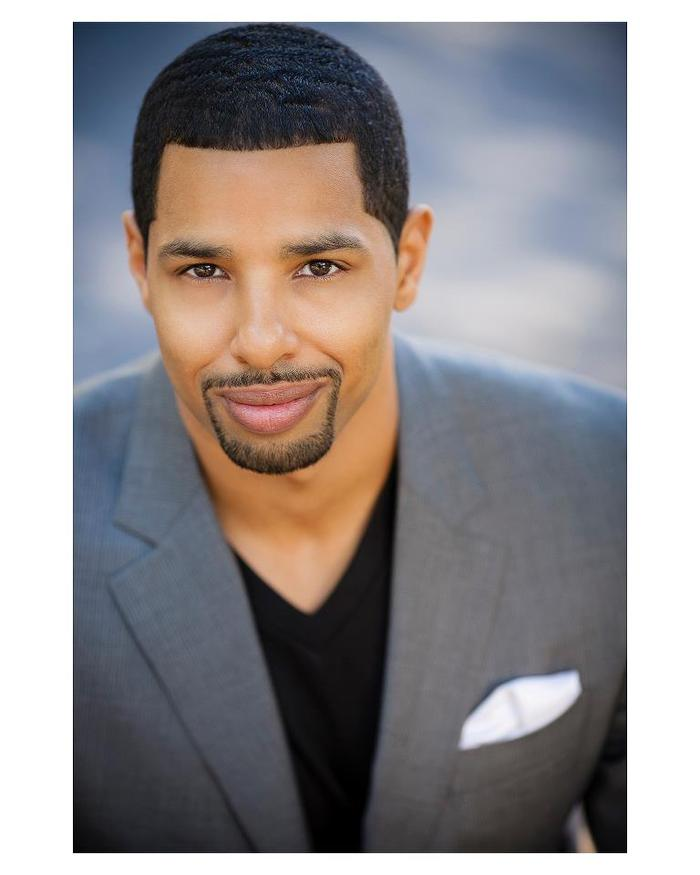 "Tremayne Norris as David Holt.""You better watch your back."""