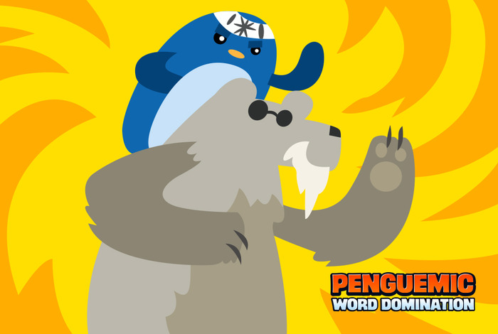 Sage Penguin with Polar Bear Ally in World 2!