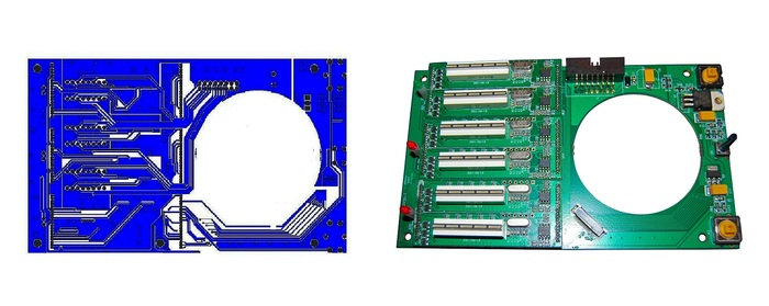 Fig 7: Print Circuit Board
