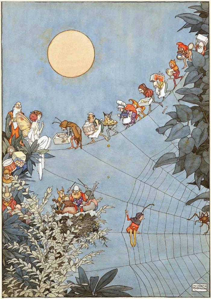 The Fairy's Birthday, 1925.