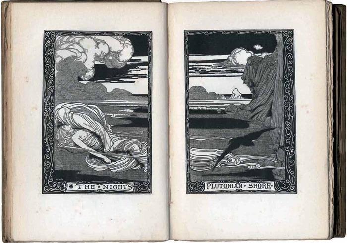 An illustration for Poe's Poems, 1900.
