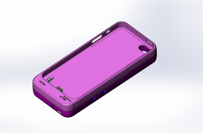 iPhone 5/5S Case CAD Image