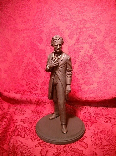 Bryan Moore's Incredible Poe Statue
