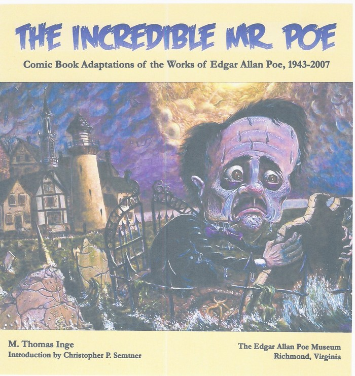 Catalogue from the show at the Edgar Allan Poe Museum