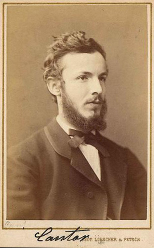 Georg Cantor as a young man