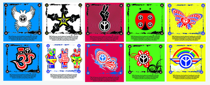 These are the 10 designs.