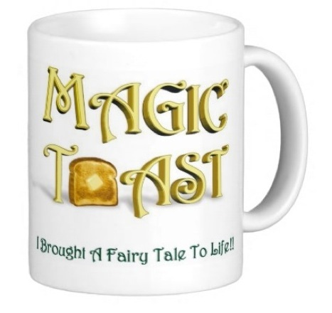 Magic Toast Title Mug