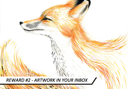 'Fox' 2012 by Michelle Hébert