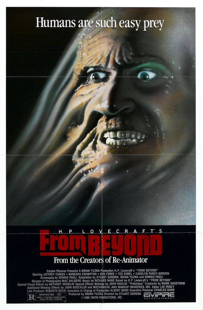 a signed From Beyond poster could be yours
