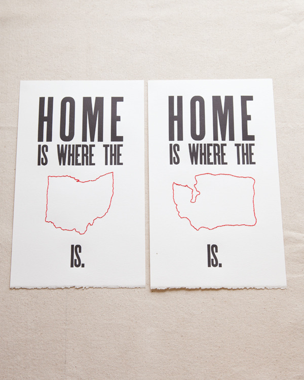 Home is Where The...