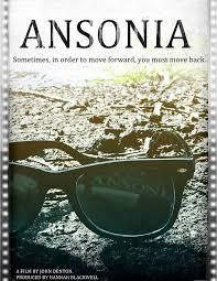 'ANSONIA' Poster designed by Joe Rinaldi