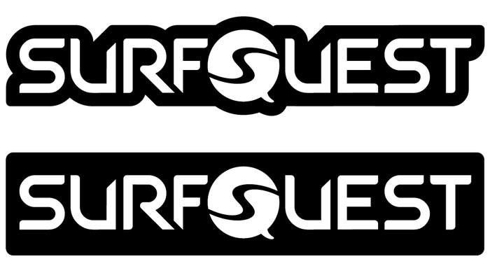SurfQuest Logo Sticker