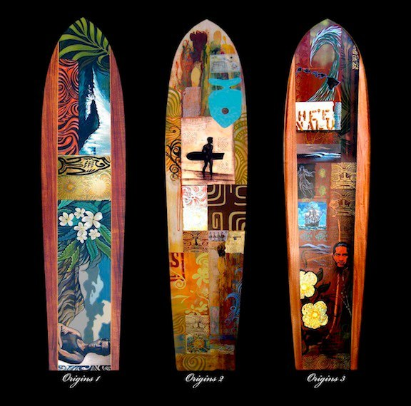 Wade Koniakowsky Hand Painted Surfboards