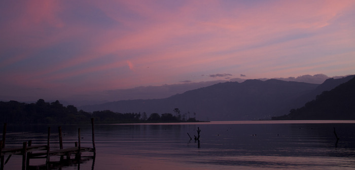 Dawn over Lake Atitlan - Photo by Antonia Colodro